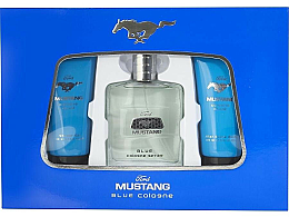 Kup Ford Mustang Blue - Zestaw (edt 100 ml + sh/gel 100 ml + ash/balm 75 ml)