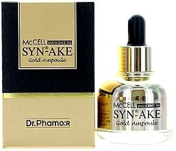 Kup Serum peptydowe ze złotem - Dr. Pharmor McCell Skin Science 365 Syn-ake Gold Ampoule
