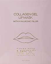 Kup Hydrożelowa maska do ust z kolagenem - Pierre Rene Medic Collagen Gel Lip Mask