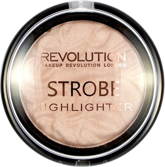 Rozświetlacz do twarzy - Makeup Revolution Strobe Highligters Radiant Lights