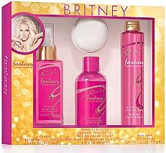 Kup Britney Spears Fantasy Set - Zestaw (h/mist 100 ml + b/wash 95 ml + bath/fizz 75 g + bath/salt 100 g)