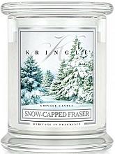 Świeca zapachowa - Kringle Candle Snow Capped Fraser — фото N1