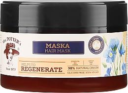 Kup Regenerująca maska do włosów zniszczonych Potrójna moc ziaren i zbóż - Mrs. Potter's Helps To Regenerate