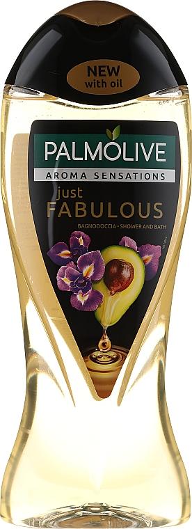 Żel pod prysznic z olejem z awokado i ekstraktem z irysa - Palmolive Just Fabulous Shower Gel