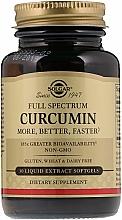 Kup Kurkumina - Solgar Full Spectrum Curcumin Liquid Extract Softgels