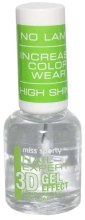 Kup Top coat dający efekt żelowych paznokci - Miss Sporty Nail Expert 3D Gel Effect Top Coat