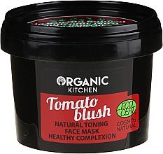 Kup Naturalna tonizująca maska do twarzy Pomidorowy rumieniec - Organic Shop Organic Kitchen Fase Mask