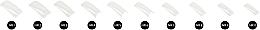 Białe tipsy, 60 szt. - NeoNail Professional — фото N3