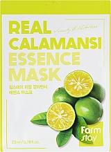Kup Witaminowa maseczka do twarzy z ekstraktem z Calamansi - Farmstay Real Calamansi Essence Mask