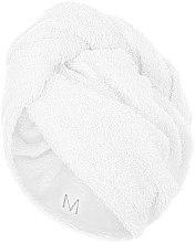 Kup Biały ręcznik-turban do włosów (68 x 26 cm) - Makeup