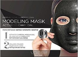 Kup Modelująca maska w płachcie do twarzy z węglem aktywnym - Voesh Facial Modeling Mask Activated Charcoal
