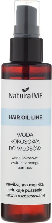 Woda kokosowa do włosów - NaturalME Hair Oil Line