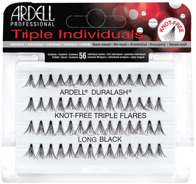 Długie sztuczne rzęsy w kępkach - Ardell Triple Individuals