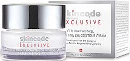 Kup Komórkowy krem do skóry wokół oczu Walka ze zmarszczkami - Skincode Exclusive Cellular Wrinkle Prohibiting Eye Contour Cream