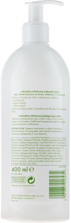 Naturalne oliwkowe mleczko do ciała - Ziaja Oliwkowa — фото N2