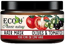 Kup Maska do włosów cienkich i słabych Oliwki i pomidor - Eco U Mask For Fine Hair