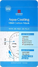 Kup Nawilżająca maska do twarzy - Leaders Ex Solution Aqua Coating Mild Cotton Mask
