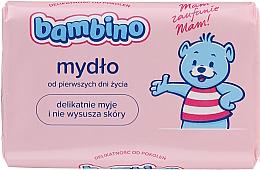 Kup PRZECENA! Mydło w kostce z lanoliną dla dzieci - Bambino Soap *
