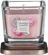Świeca zapachowa w szkle - Yankee Candle Elevation Salt Mist Peony — фото N1