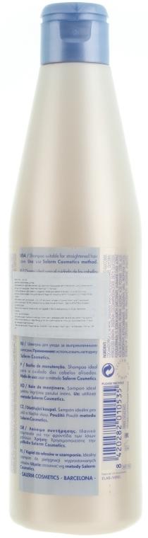 Szampon do włosów z keratyną - Salerm Keratin Shot Maintenance Shampoo — фото N2