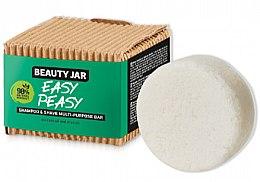 Kup Kostka myjąca do włosów i golenia - Beauty Jar Easy Peasy Shampoo & Shave Multi-Purpose Bar