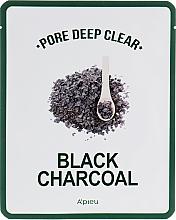Kup Czarna maska na tkaninie z węglem aktywnym głęboko oczyszczająca pory - A'pieu Pore Deep Clear Black Charcoal Mask