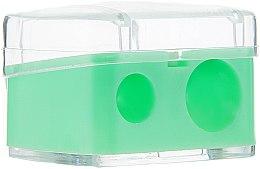 Kup Podwójna temperówka kosmetyczna, zielona - Top Choice