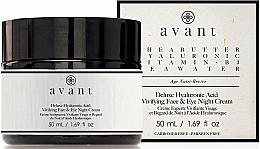 Kup PRZECENA! Krem na noc z kwasem hialuronowym - Avant Skincare Deluxe Hyaluronic Acid Night Cream *