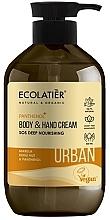 Kup Odżywczy krem do rąk i ciała Olej marula, kukui i pantenol - Ecolatier Urban Nourishing Body & Hand Cream