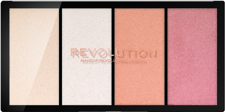 Paleta rozświetlaczy - Makeup Revolution Re-Loaded Lustre Palette