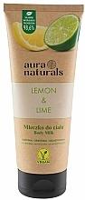 Kup Mleczko do ciała Cytryna i limonka - Aura Naturals Lemon & Lime Body Milk