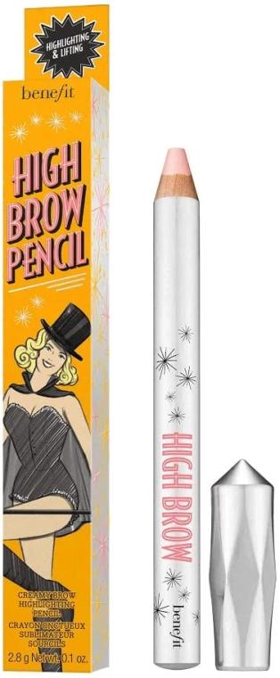 Ołówek-rozświetlacz do brwi - Benefit High Brow a Brow Lifting Pencil — фото N1