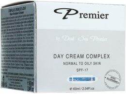 Kup Kompleksowy krem na dzień do skóry normalnej i tłustej - Premier Dead Sea Day Cream Complex Normal to Oily Skin