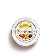Kup Naturalny kremowy peeling do twarzy Papaya i żeń-szeń indyjski - Orientana