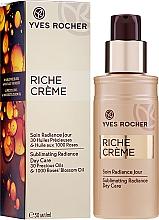 Kup PRZECENA! Rozświetlający balsam do twarzy - Yves Rocher Riche Crème Sublimating Radiance Day Care *