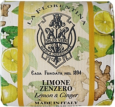 Kup Naturalne mydło do rąk w kostce Cytryna i imbir - La Florentina Lemon & Ginger Natural Soap