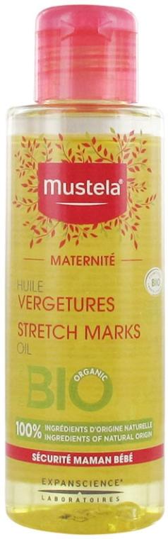 Bezzapachowy olejek na rozstępy - Mustela Maternité Stretch Marks Oil Fragrance-Free