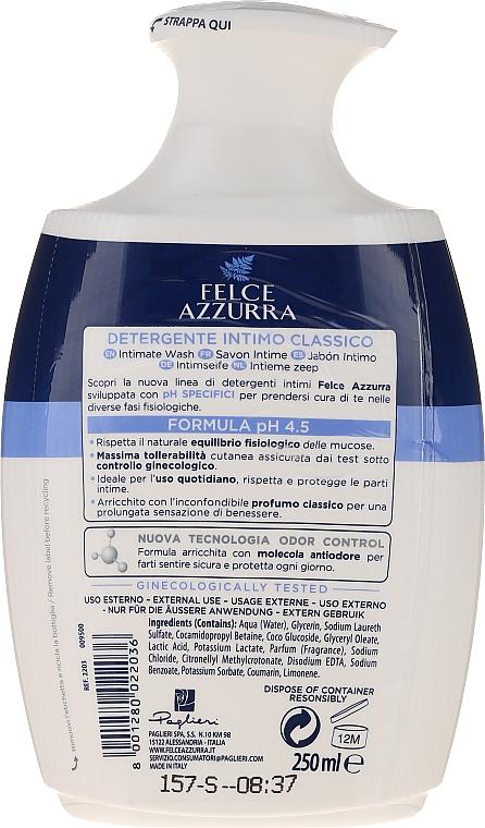 Delikatne mydło w płynie do higieny intymnej - Felce Azzurra Classic Intimate Wash — фото N2