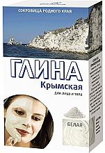 Kup Krymska biała glinka do twarzy i ciała - FitoKosmetyki