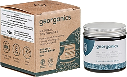 Kup Naturalna pasta do zębów - Georganics English Peppermint Natural Toothpaste