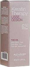 Kup Keratynowy olejek do włosów - Alfaparf Lisse Design Keratin Therapy The Oil