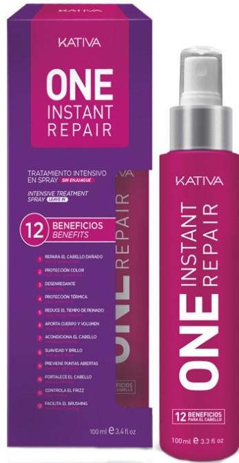 Odżywka w sprayu do włosów zniszczonych - Kativa One Instant Repair Spray — фото N1