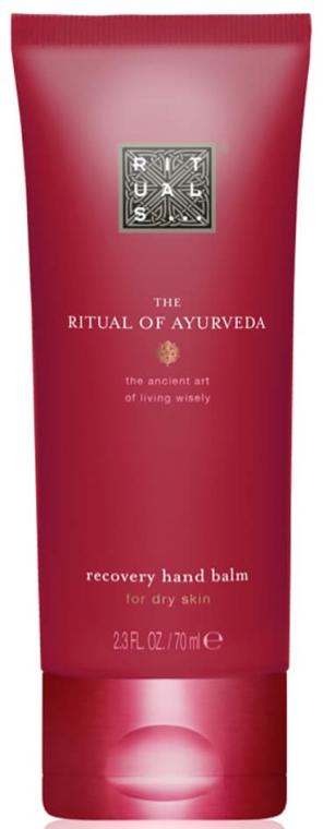 Rewitalizujący balsam do rąk o zapachu migdałów i róży indyjskiej - Rituals The Ritual of Ayurveda Recovery Hand Balm — фото N1