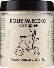 Kup Kozie mleczko do kąpieli Pomarańcza z wanilią - E-Fiore