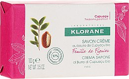 Kup Mydło w kostce - Klorane Cupuacu Fig Leaf Cream Soap