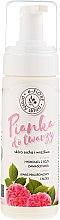 Kup Pianka do twarzy na bazie hydrolatu z róży damasceńskiej do skóry suchej i wrażliwej - E-Fiore