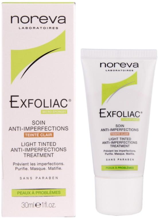 Lekka tonująca kuracja przeciw niedoskonałościom - Noreva Laboratoires Exfoliac Soin Anti-Imperfections — фото N1