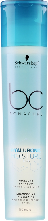Nawilżający szampon do włosów - Schwarzkopf Professional Bonacure Hyaluronic Moisture Kick Shampoo