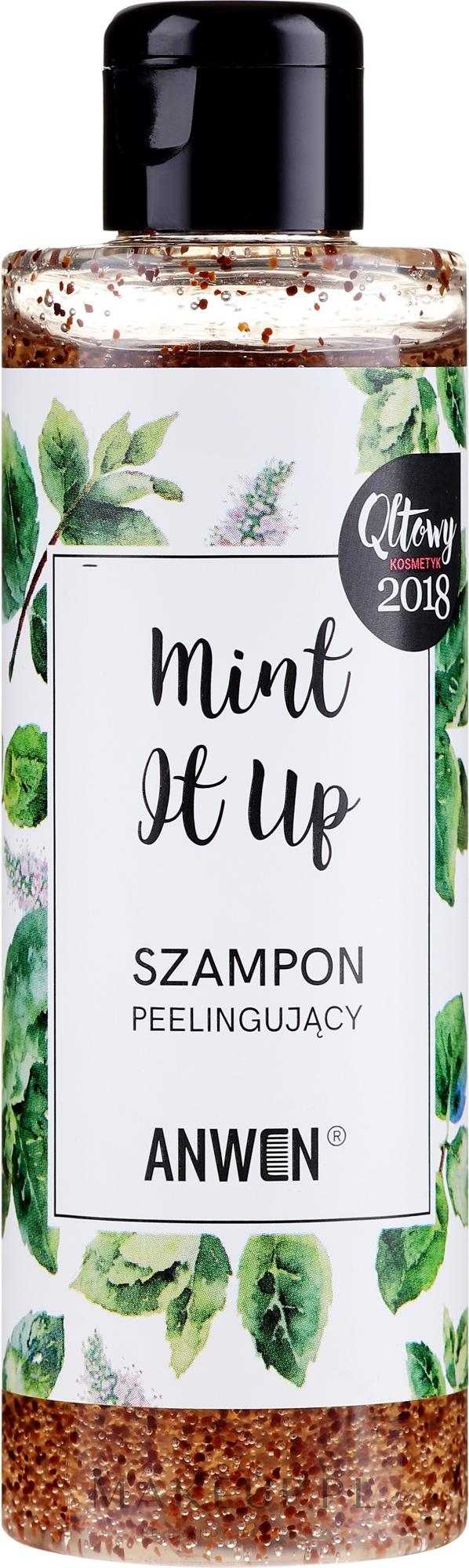 Szampon peelingujący Mint It Up - Anwen — фото 200 ml