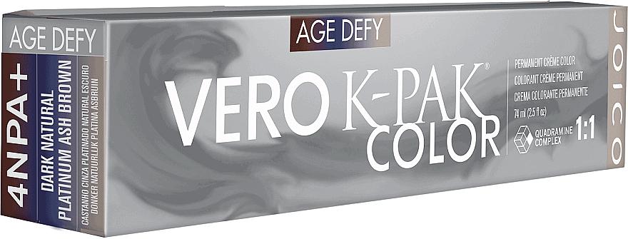 Farba do włosów - Joico Vero K-Pak Age Defy Color Permanent Cream Color — фото N1